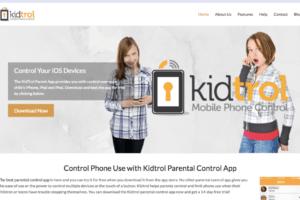 Kidtrol.com digital marketing work