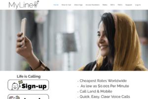 Myline.com digital marketing work