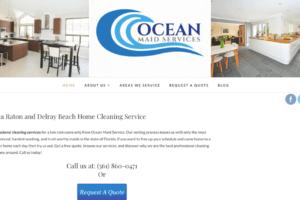 Oceanmaidservice.com previous marketing work