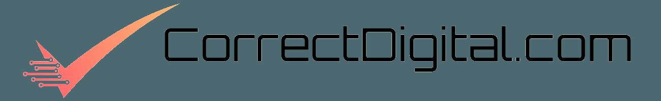 correct digital marketing services logo