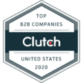 Clutch top B2B company in the USA 2020